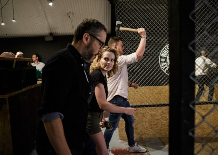 Dangerous Date Night: Axe Throwing - Vauxhall, London - Age 30-45